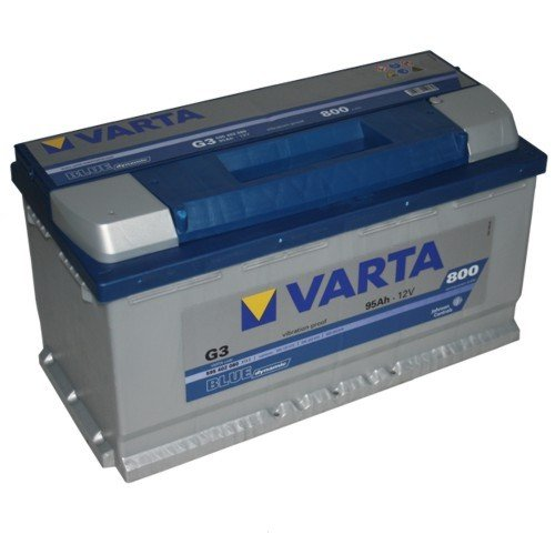 varta g3 blue dynamic autobatterie batterie 95ah. Black Bedroom Furniture Sets. Home Design Ideas