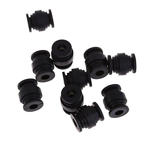 Vktech® 10PCS High Elastic Anti-Vibration Rubber Ball Dual-Head for Gimbal FPV PTZ - 1