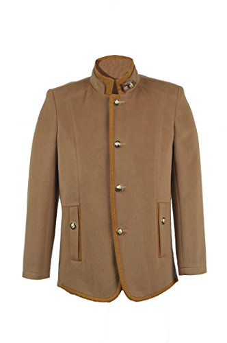 Trust Costume Hot Fashion Brown Men`s Wool Jacket Coat Costume