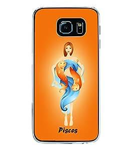 Pisces 2D Hard Polycarbonate Designer Back Case Cover for Samsung Galaxy S6 G920I :: Samsung Galaxy G9200 G9208 G9208/SS G9209 G920A G920F G920FD G920S G920T