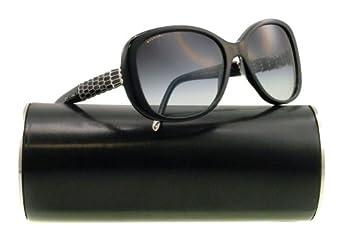 Bvlgari 8114 501/8G Black 8114 Round Sunglasses Lens Category 3