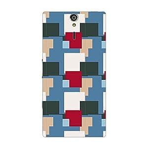 Garmor Designer Plastic Back Cover For Sony Xperia S