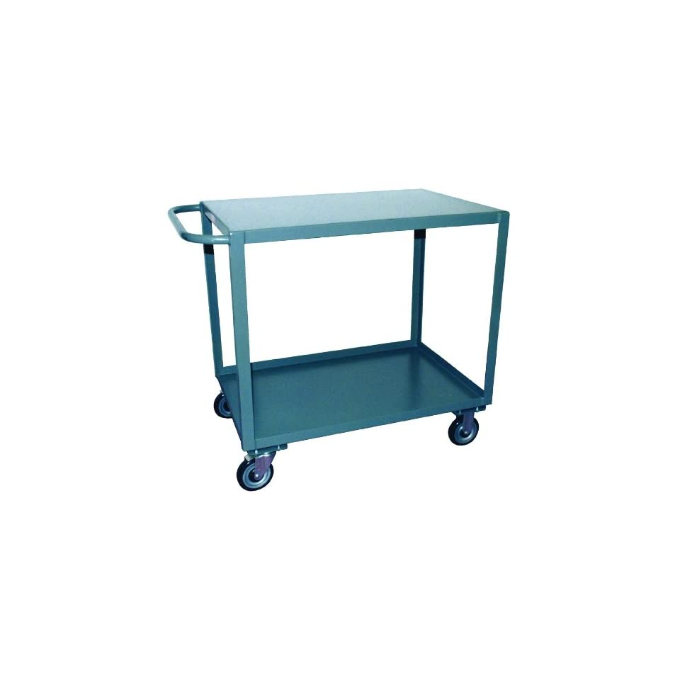 Jamco Products SE336 P6 GP 30 Inch by 36 Inch 2400 Pound Capacity Two Shelf Service Cart