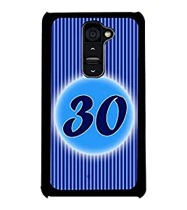 Printvisa 2D Printed Numerology Designer back case cover for LG G2 - D4251
