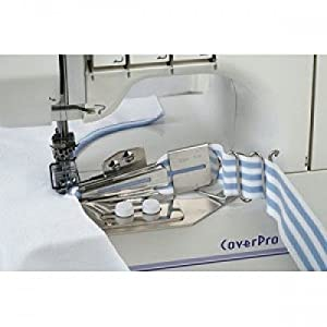 Janome CoverPro Binder Foot 1000CP (Color: Clear)