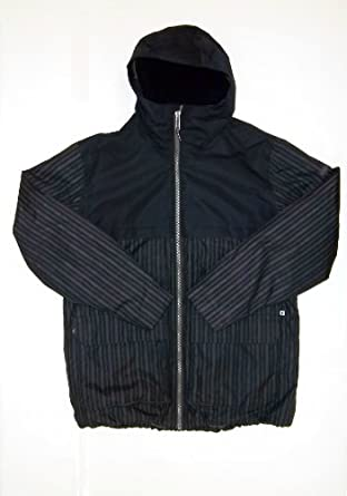 Burton Mens MB Arctic Jacket, True Black  Keef Distrip by Burton