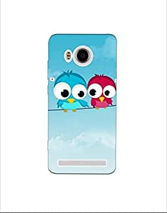 VIVO X Shot ht003 (2) Mobile Case by Mott2 - Cute Couple Birds Love Forever Pure (Limited Time Offers,Please Check the Details Below)