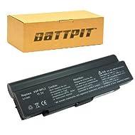 Battpit Recambio de Bateria para Ordenador Portátil Sony VAIO VGN-C2S/H (6600 mah)