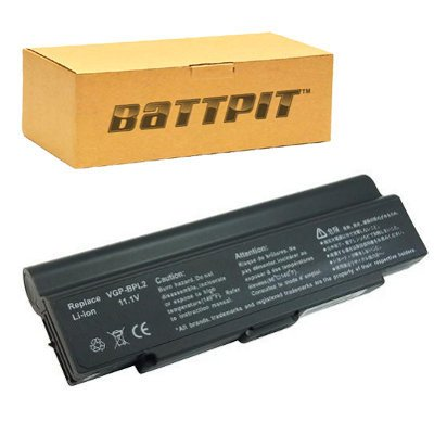 Battpit™ Laptop / Notebook Battery Replacement for Sony VGP-BPL2 (6600 mAh) promo code 2016