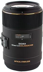 Sigma 105mm F2.8 EX DG OS HSM Macro Mount 258110
