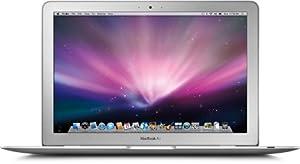 """Apple MacBook Air MC233 Ordinateur portable 13,3"""" Intel Core 2 Duo 120 Go RAM 2048 Mo MacOS X 10.6 Jusqu'à  5h d'utilisation NVIDIA GeForce 9400M Blanc [Emballage « Déballer sans s'énerver par Amazon »]"""