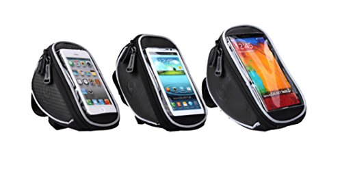 Check Out This FOXNOV 5.5'' Bike Bag Phone Holder with Headphone Extension Cable for iPhone 6 6Plus ...