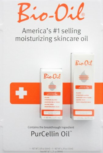 Bio-Oil American'S #1 Selling Multiuse Skincare Oil Contains The Breakthrough Ingredient Purcellin Oil, Includes One 4 Oz Bottle And, One 2 Oz Bottle