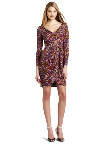 Trina Turk Women's Archer Printed Matte Jersey Dress, Multi, 6