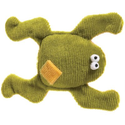 West Paw Design Floppy Frog Squeak Toy for Dogs