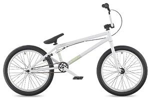 """DK Aura 2011 BMX Bike, 20"""" White with white rims"""