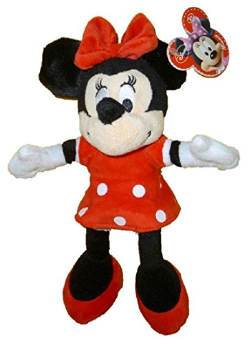 "Disney 9"" Plush Minnie Mouse - Red Outfit"