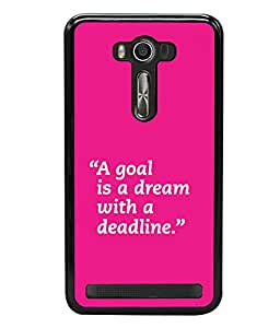 printtech Cool Quotes Back Case Cover for Asus Zenfone 2 Laser ZE550KL ,Asus Zenfone 2 Laser ZE550KL (5.5 Inches)