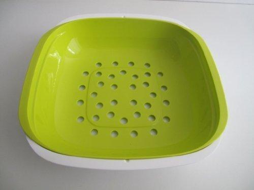 tupperware-allegra-cuenco-con-filtro-bandeja-verde