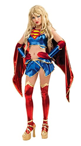 Anime Supergirl Adult Costume Size:Small (2-6)