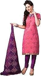 Vastrakosh Women's Cotton Unstitched Dress Material (Vastra_1_Multicoloured_36)