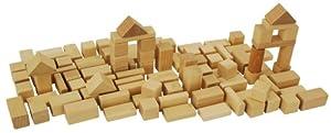 HEROS 100050131 - Juego de 50 bloques de madera por HEROS - BebeHogar.com