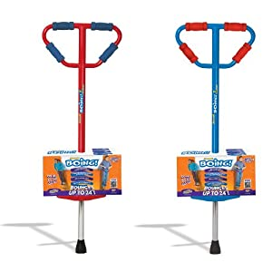 Small Jumparoo Boing! I Pogo Stick by Air Kicks for Kids 44 to 86 Lbs.