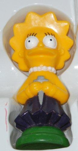 Simpsons 3-D Chess Set Green Team Piece - Lisa / Rook - 1