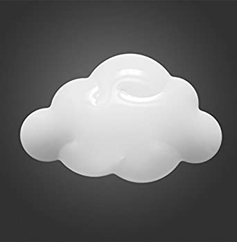 Plafoniera nuvola lampada da parete soffitto camera for Applique cameretta bimbi