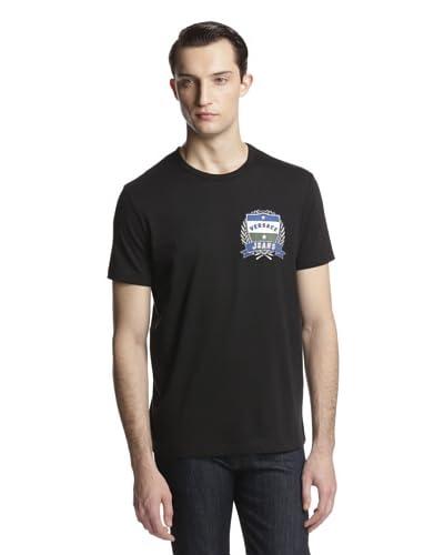 Versace Jeans Men's Logo Crew Neck Tee Shirt