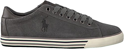 Polo Ralph Lauren HARVEY Sneakers Basse Uomo Grigio 45