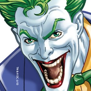 Coveroo Thinshield Snap-On Cell Phone Case for iPhone 4/4s - Retail Packaging - Joker Closeup at Gotham City Store