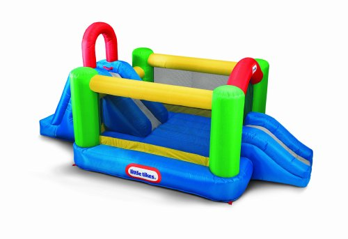 Jump & Double Slide Bouncer