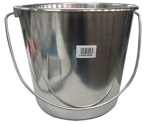 Berger & Schröter 80128 Edelstahleimer 10 Liter