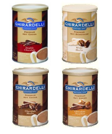 Ghirardelli Hot Cocoa Variety Pack: Double Chocolate, 