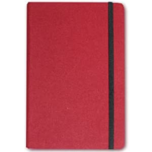 Letts of London Noteletts Medium Squares/Grid Burgundy Notebook