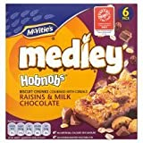 McVitie's Medley Hobnobs Raisins & Milk Chocolate 6 X 30G