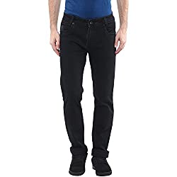 Mufti Mens Black Narrow Fit Jeans (AW16)