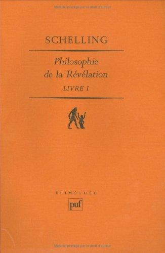 Philosophie de la révélation, 3 volumes