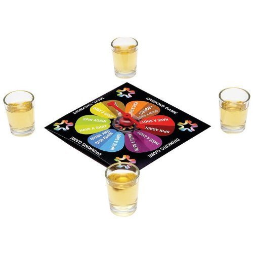 Last Man Standing Drinking Spinner Game by Maxam