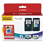 CE - Canon Office Products PG-240XL/CL-241XL with Canon GP502 Glossy Photo Paper - Combo Pack Ink