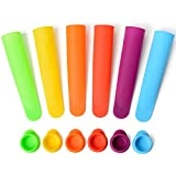 Sunsella Mighty Pops - Silicone Popsicle Molds - 6 Pack