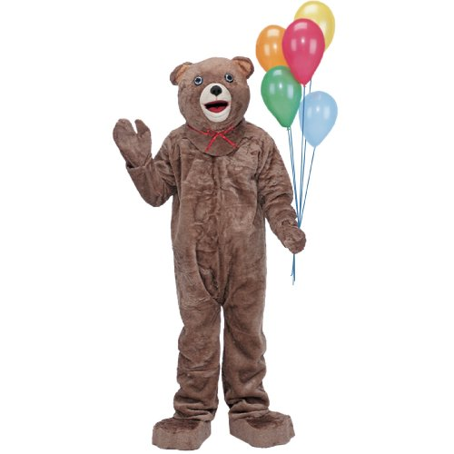 Teddy Bear Mascot Costume - Adult Costume