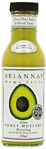 Brianna's Dijon Honey Mustard Dressing 355 ml (Pack of 3)