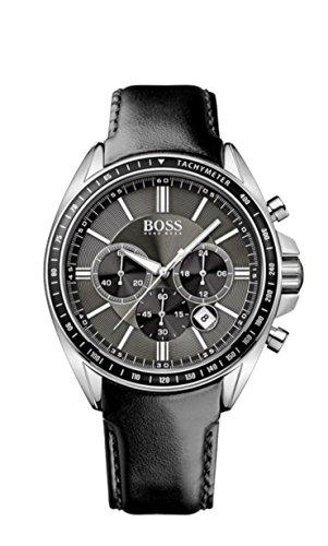 Hugo Boss Orologio da uomo cronografo quarzo pelle 1513085