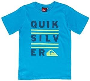 Quiksilver Basic T-Shirt manches courtes garçon Brillant Blue FR : 10 ans (Taille Fabricant : T10)