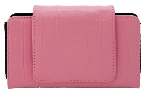Pebble Entertainment Bag of Elegance (pink croc) for Nintendo DS Lite