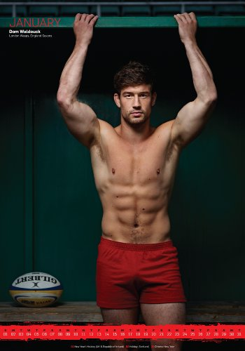 Official Rugby's Finest Hunks Calendar 2012