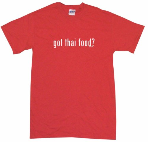 Got Thai Food Kids Tee Shirt 7T-Red