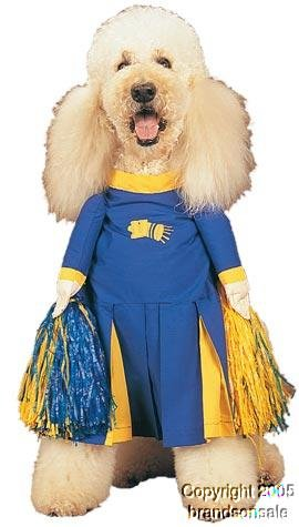 Pet Cheerleader Dog Costume Size Large